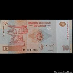10 Francs 30-06-2003