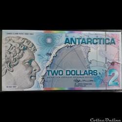 2 dollars Antarctica 2007