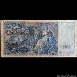 100 Mark 1909