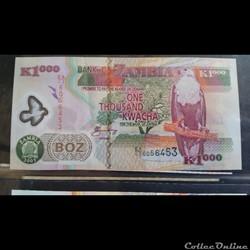 1000 Kwacha 2003