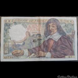 Cent Francs 15-5-1942