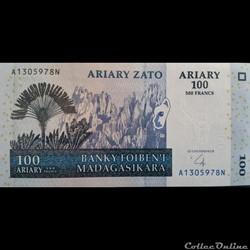 100 Ariary