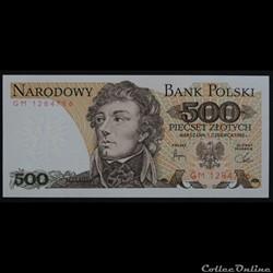 500 Zlotych 1982