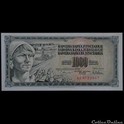 1000 Dinara 1978