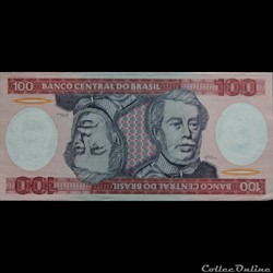 100 Cruzeiros 1970