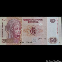 50 Francs 31-07-2007