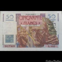 Cinquante Francs 8-4-1948
