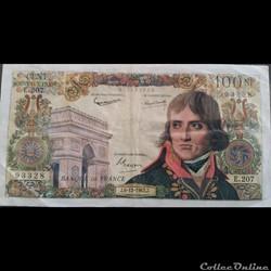Cent Francs 6-12-1962