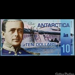 10 dollars Antarctica 2009