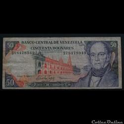 50 Bolivars 1995