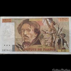 Cent Francs 1980 R.22