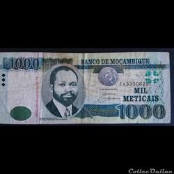 1000 Méticals 2006