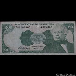 20 Bolivars 1998