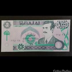 100 Dinar Irakien 1991