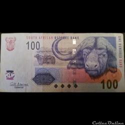 100 rand ÉMISSIONS DE 2005