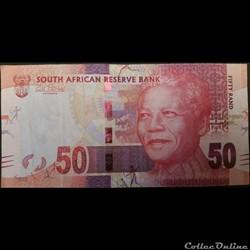 50 Rand ÉMISSIONS DE 2012
