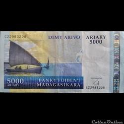 5000 Ariary