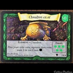 07 - Chaudron en or