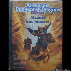 AD&D2 - Manuel des joueurs