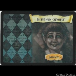 Harry Potter - Set de base - 009 - Hermione Granger - Rare Holographique