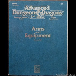 AD&D2 - Arms and equipment guide