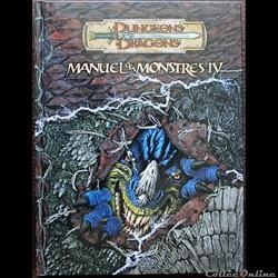 D&D3.5 - Manuel des monstres IV