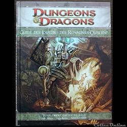 D&D4 - Guide des joueurs des royaumes oubliés