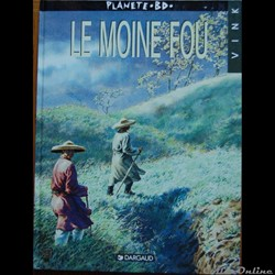 Bandes Dessinées - Moine fou (Le) / voyages de He Pao (Les)