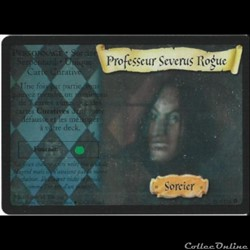 Harry Potter - Set de base - 016 - Professeur Severus Rogue - Rare Holographique