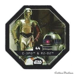 44 - C-3P0 & R2-D2