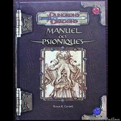 D&D3 - Manuel des psionniques