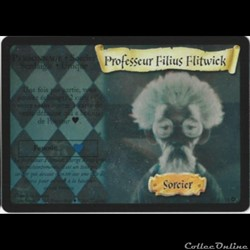 Harry Potter - Set de base - 015 - Professeur Filius Flitwick - Rare Holographique