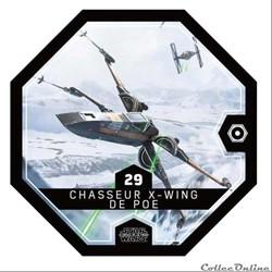 29 - Chasseur X-Wing de Poe