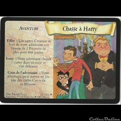 Harry Potter - Set de base - 023 - Chasse à Harry - Rare