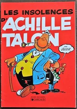07 - Pub 1997 - Les insolences d'Achile ...