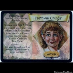 Harry Potter - Set de base - 010 A - Hermione Granger - Rare