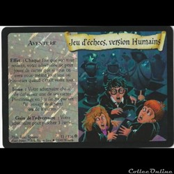 Harry Potter - Set de base - 011 - Jeu d'échecs, version humains - Rare Brillante