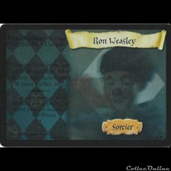 Harry Potter - Set de base - 017 - Ron Weasley - Rare Holographique