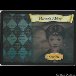 Harry Potter - Set de base - 007 - Hannah Abbott - Rare Holographique