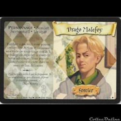 Harry Potter - Set de base - 003 B - Drago Malefoy - Rare