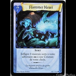 Harry Potter - Set de base - 044 - Flammes bleues - Peu commune