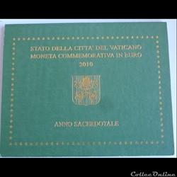 Coffret BU Vatican - 2010