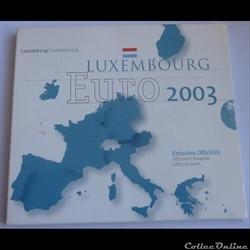 Coffret BU - Luxembourg 2003