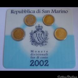 Coffret BU - San Marin 2002