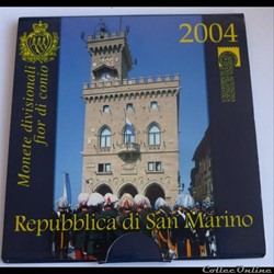 Coffret BU San Marin - 2004