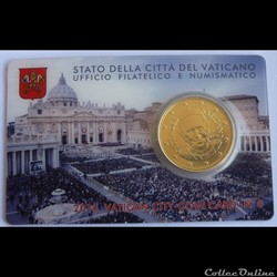 50 Cts - Vatican Coin Card 2015