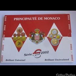 Coffret BU - Monaco 2002