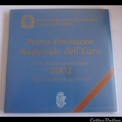 Coffret BU - Italie 2002