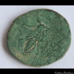 monnaie antique romaine lucille as salvs s c