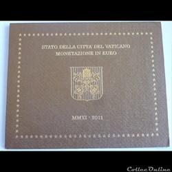 Coffret BU Vatican - 2011